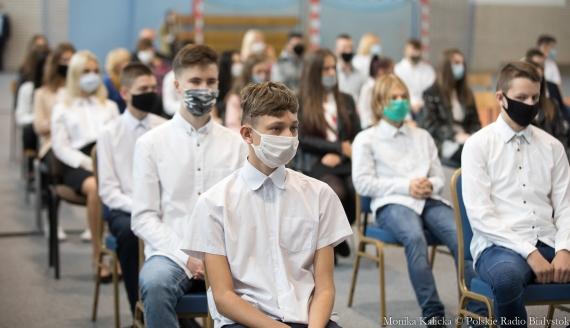 Centralna inauguracja roku szkolnego 2020/21 w Łapach, fot. Monika Kalicka
