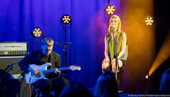 Koncert live Faustyny Maciejczuk, fot. Monika Kalicka