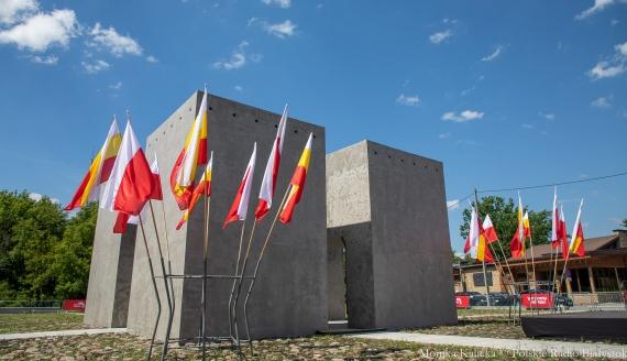 Miejsce pamięci po dawnym cmentarzu ewangelicko-augsburskim w Białymstoku, fot. Monika Kalicka