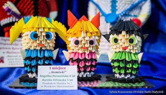 """""""Bajkowy świat origami"""" - niesamowita wystawa w białostockiej szkole podstawowej, fot. Sylwia Krassowska"""
