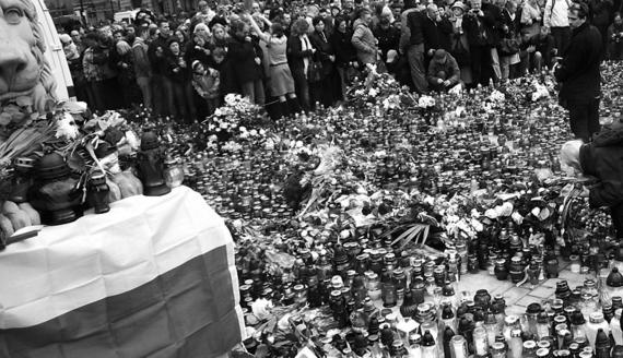 Pod Pałacem Prezydenckim w Warszawie, fot. Paweł Wądołowski