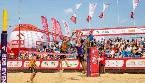 Finał turnieju siatkówki plażowej Plaża Open w Białymstoku, fot. Sylwia Krassowska