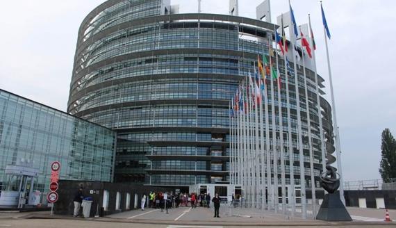 Siedziba Parlamentu Europejskiego - fot. Jarosław Iwaniuk