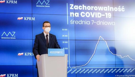Mateusz Morawiecki, źródło: Krystian Maj/KPRM