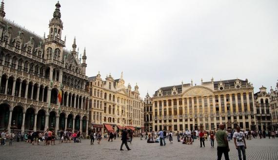 Grand Place w Brukseli, fot. Joanna Żemojda