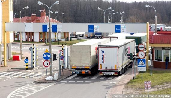 Polsko-białoruskie przejście graniczne w Bobrownikach, fot. Joanna Szubzda