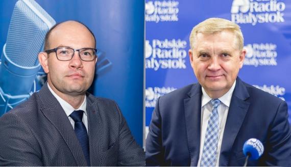 Artur Kosicki i Tadeusz Truskolaski, fot. PRB