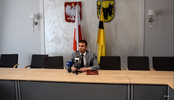 Adrian Łuckiewicz, źródło: Urząd Miejski w Wailkowie