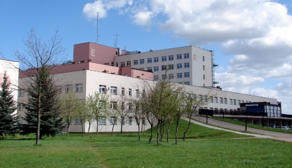 Szpital Wojewódzki w Łomży, fot. Adam Dąbrowski