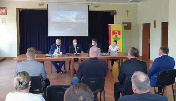 Spotkanie rolników z przedstawicielami Wód Polskich, 17.05.2021, fot. Paweł Wądołowski