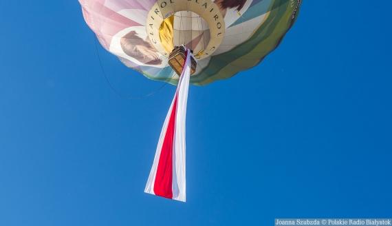 Dzień Solidarności z Białorusią w Białymstoku. fot. Joanna Szubzda