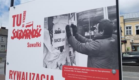 """Wystawa """"Tu rodziła się Solidarność"""", fot. Iza Kosakowska"""