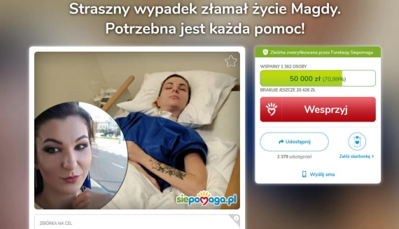 źródło: siepomaga.pl