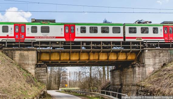 Okolice stacji kolejowej w Szepietowie, fot. Joanna Szubzda