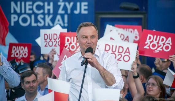 Wizyta Andrzeja Dudy w Łomży, fot. Paweł Wądołowski