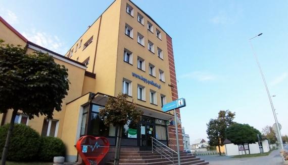 Urząd Miejski w Łapach, fot. Wojciech Szubzda