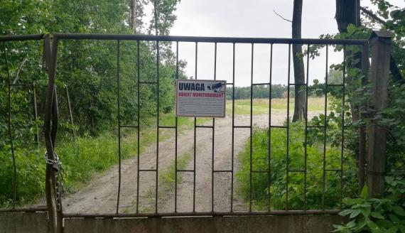 Zamknięte składowisko odpadów w Brańsku, fot. Michał Buraczewski