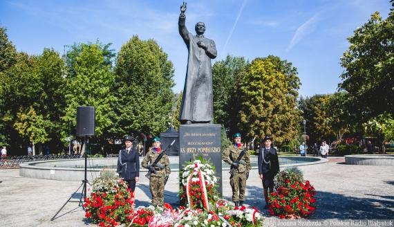 74. rocznica urodzin bł. ks. Jerzego Popiełuszki, fot. Joanna Szubzda
