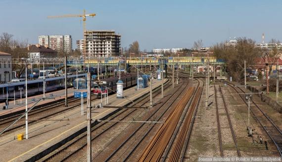 Dworzec w Białymstoku, fot. Joanna Szubzda