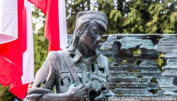 """74. rocznica śmierci Danuty Siedzikówny """"Inki"""", fot. Joanna Szubzda"""