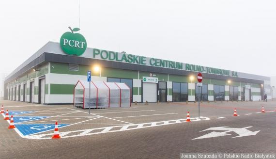 Nowa hala Podlaskiego Centrum Rolno-Towarowego w Białymstoku, fot. Joanna Szubzda