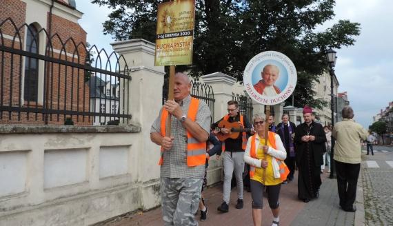 Piesza Pielgrzymka Łomżyńska do Częstochowy 2020, fot. Adam Dąbrowski