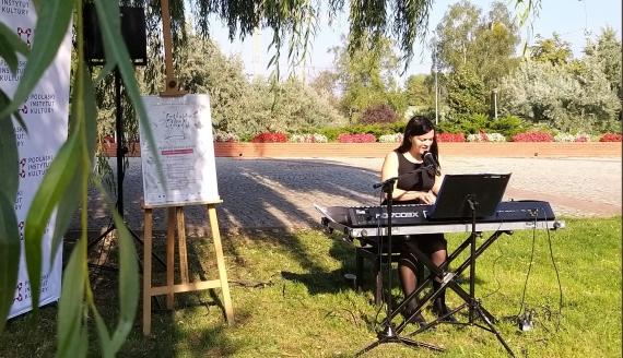 Konferencja zapowiadająca Festiwal Piosenki Literackiej im. Łucji Prus 2020, fot. Olga Gordiejew