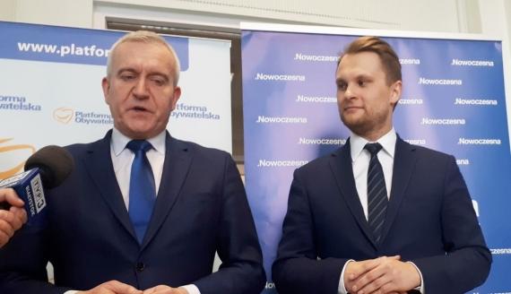 Robert Tyszkiewicz i Krzysztof Truskolaski, fot. Edyta Wolosik