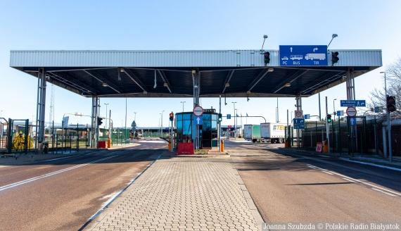 Polsko-białoruskie przejście graniczne w Kuźnicy, fot. Joanna Szubzda