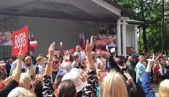 Wizyta Andrzeja Dudy w Suwałkach, fot. Iza Kosakowska