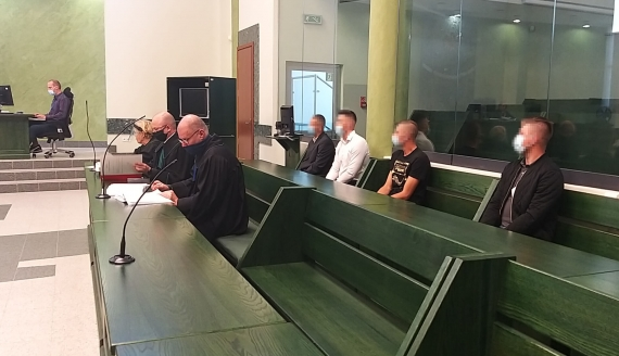 Proces ws. pobicia dwóch nastolatków na Marszu Równości w Białymstoku, 24.09.2020, fot. Marta Nazarko