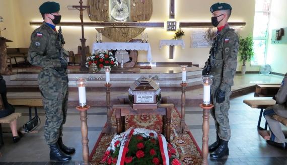 Pogrzeb - po stu latach - Jana Mackiewicza, fot. Agnieszka Czarkowska