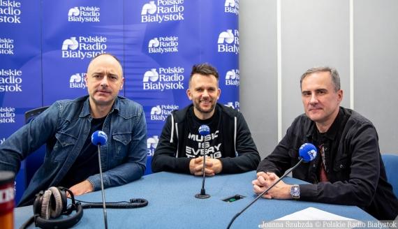 Marcin Kozłowski, Andrzej Bajguz i Tomasz Kleszczewski, fot. Joanna Szubzda