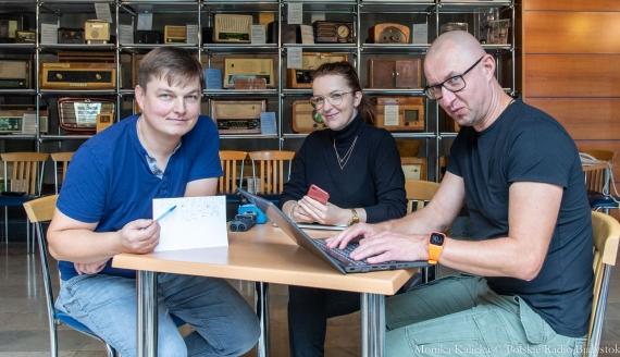 Jak planować czas - sprawdzają Kamil Kalicki i Andrzej Ryczkowski, fot. Monika Kalicka