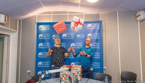 Kto lepiej zna świąteczne piosenki - eksperyment Kamila Kalickiego i Andrzeja Ryczkowskiego, fot. Monika Kalicka