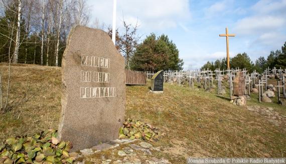 Wzgórze Krzyży w Gibach upamiętniające ofiary Obławy Augustowskiej, fot. Joanna Szubzda