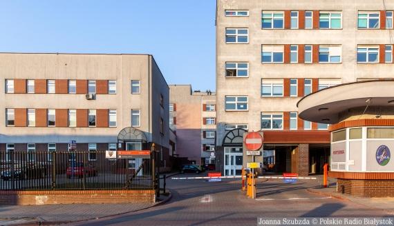 Szpital MSWiA w Białymstoku, fot. Joanna Szubzda