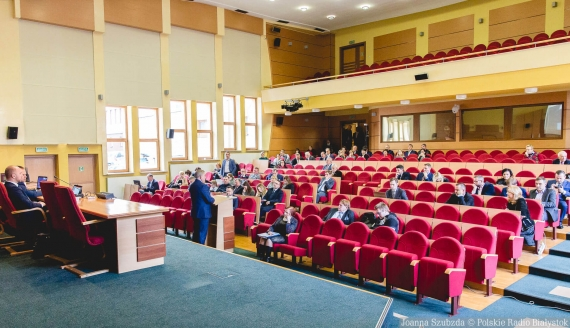 Sesja Rady Miasta Białystok, fot. Joanna Szubzda