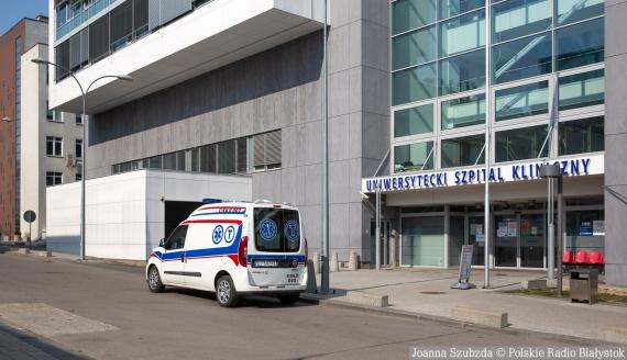 Uniwersytecki Szpital Kliniczny w Białymstoku, fot. Joanna Szubzda