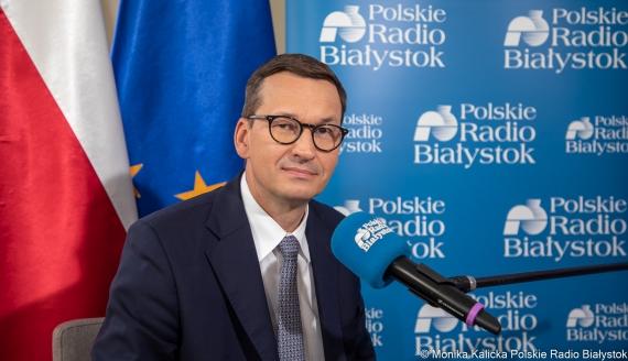 Premier Mateusz Morawiecki, fot. Monika Kalicka