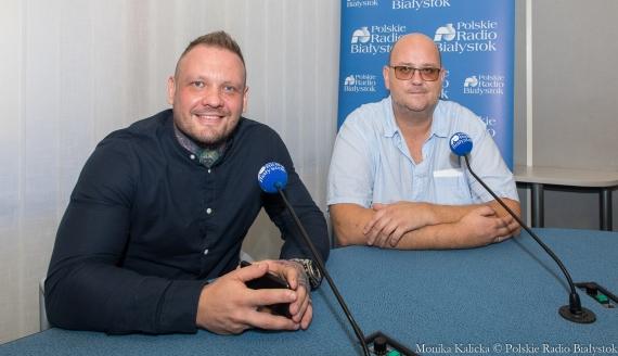 Stefan Sochoń i Grzegorz Gogol, fot. Monika Kalicka