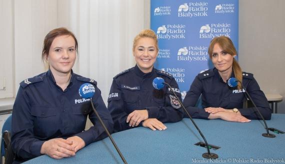 Sandra Skiepko, Katarzyna Ostrowska i Edyta Wilczyńska, fot. Monika Kalicka