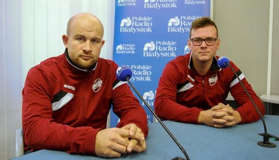 Mateusz Perzyna i Adam Litwińczuk, fot. Marcin Gliński