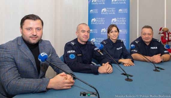 Paweł Łucyk, Maciej Zakrzewski, Justyna Citkowska i Wojciech Snopko, fot. Monika Kalicka