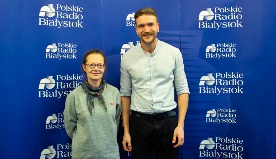 Alicja Pietruczuk i Źmicier Kościn, fot. Barbara Sokolińska