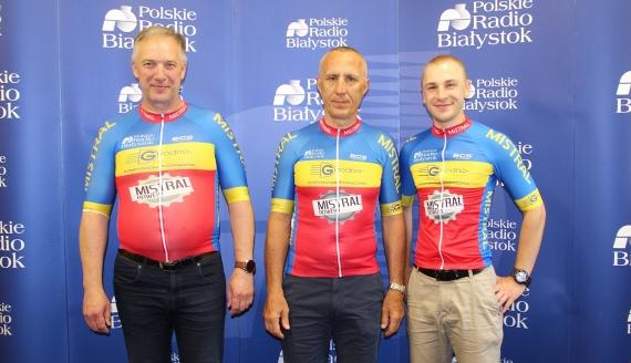 Bogdan Bakunowicz, Dariusz Zakrzewski i Piotr Krysiewicz, fot. Marcin Gliński