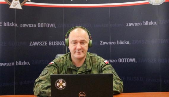 płk Sławomir Kocanowski, fot. por. Łukasz Wilczewski