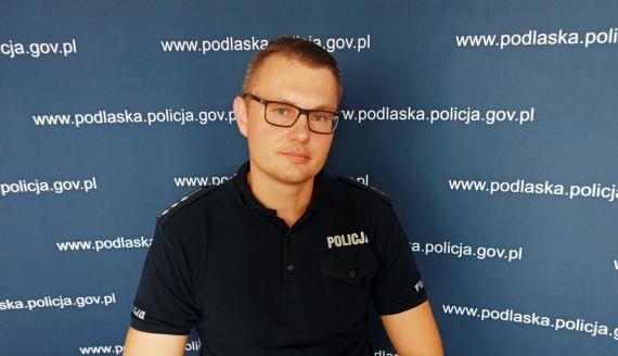 Marcin Gawryluk, źródło: KWP Białystok