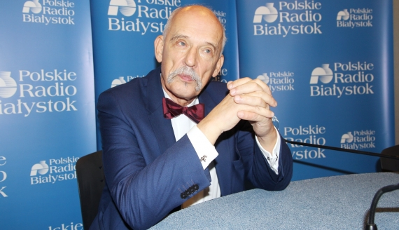 Janusz Korwin-Mikke, fot. Marcin Gliński