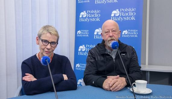 Katarzyna Deszcz i Andrzej Sadowski, fot. Monika Kalicka